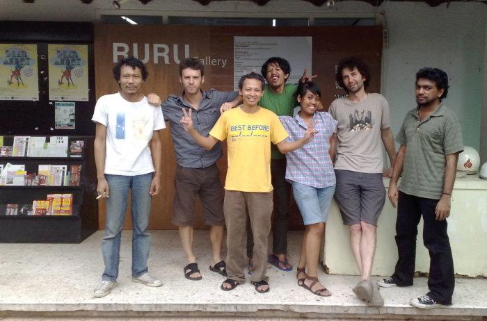 EngageMedia/Ruagrupa set up a local video archive, Jakarta