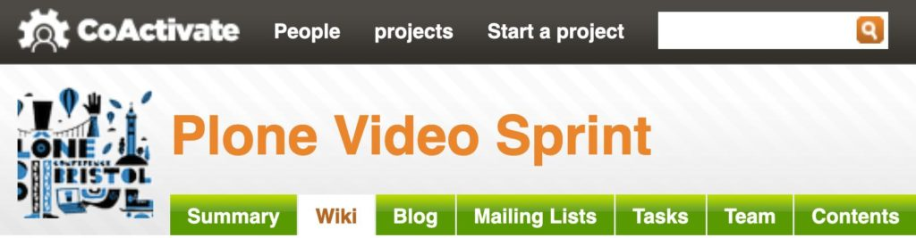 Plone Video Sprint