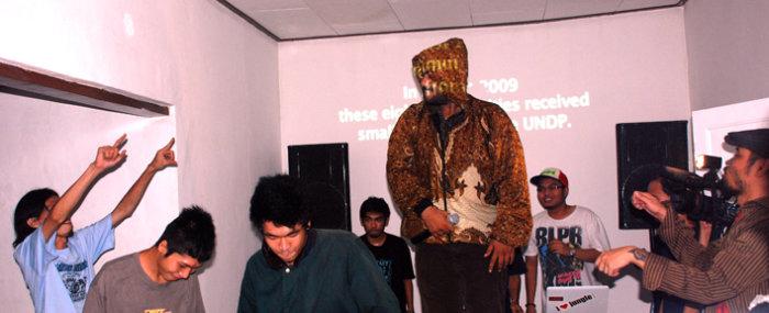 Launch, EngageMedia Indonesian office, SEL 49, 13 Dec 2009.