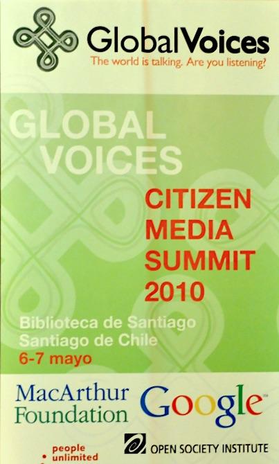 GV Summit 2010 poster