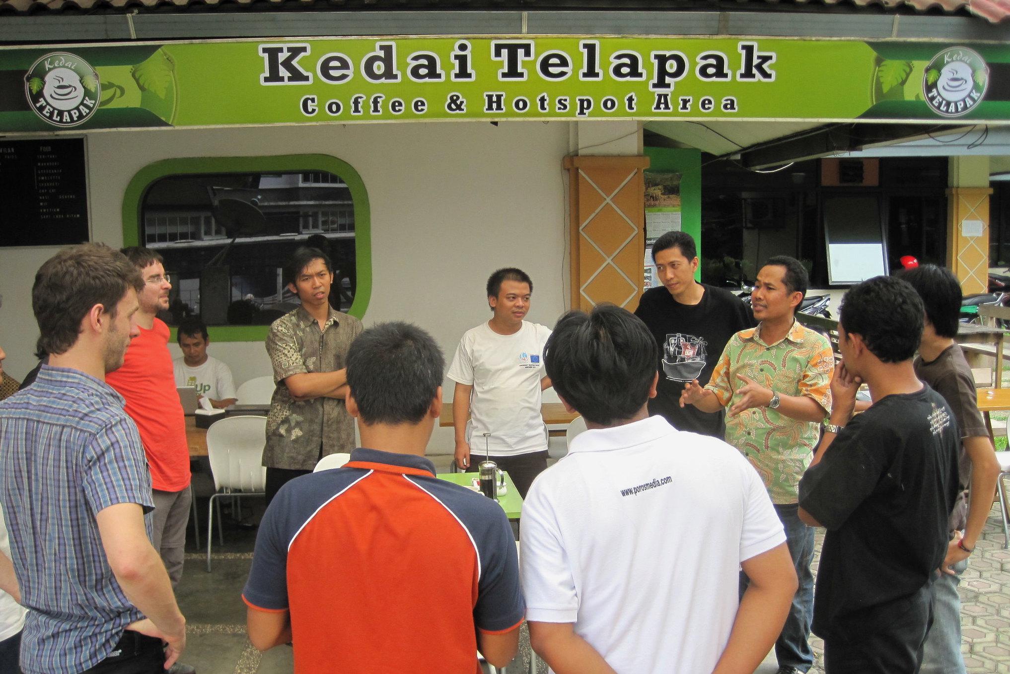 Ice breaking session as Bogor Plumi Training