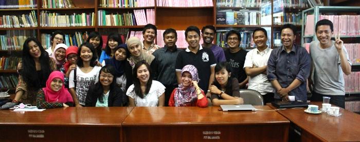 Lingua Training at UNJ Jakarta