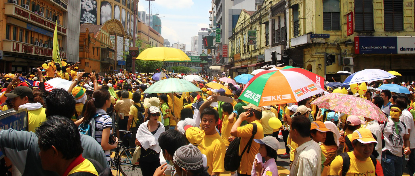 Bersih in Malaysia. Image via Flickr by Nicholas Chan. BY-NC-ND 2.0