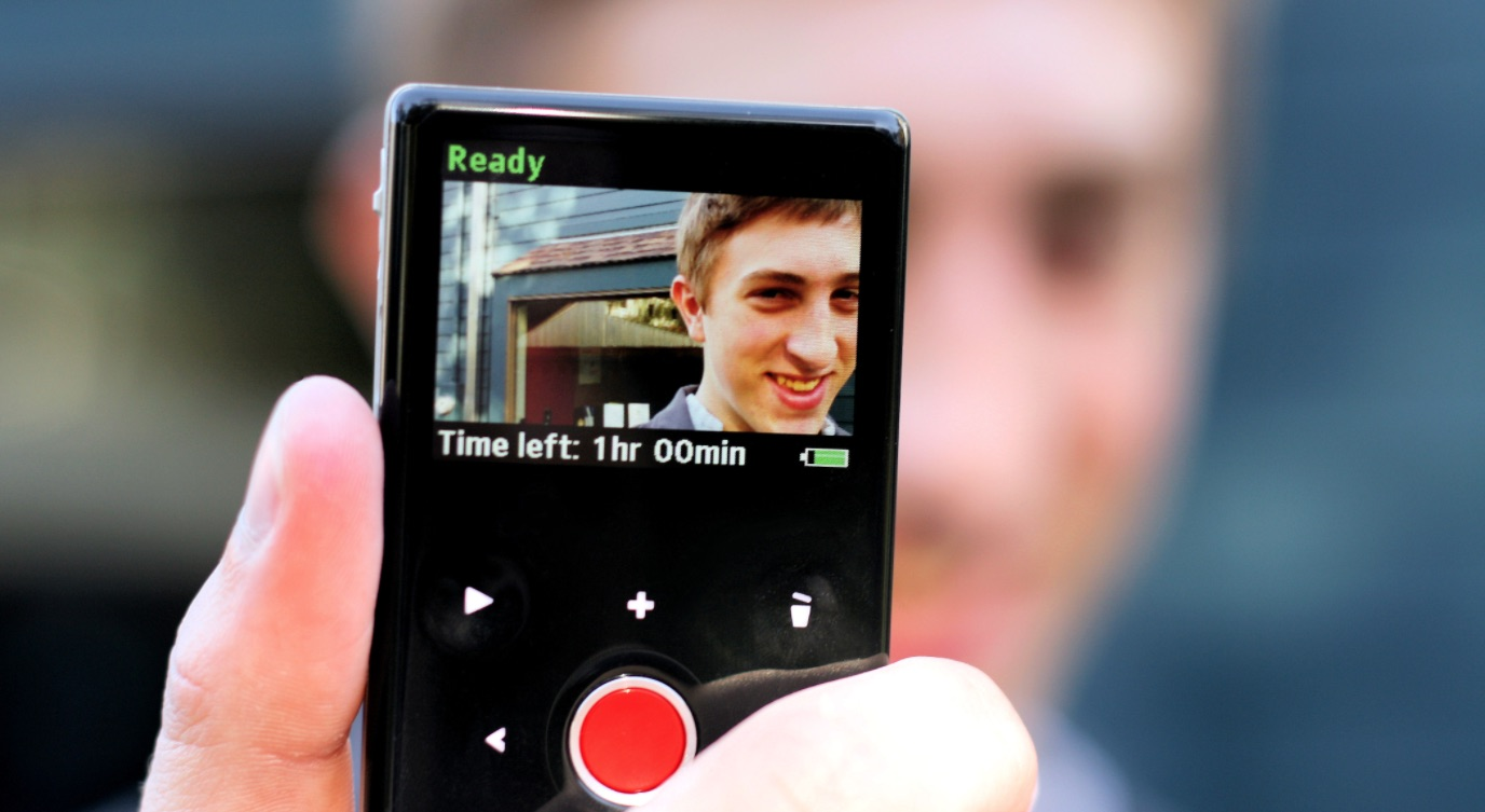 The rear LCD display on a Flip Video camera. Image via Wikipedia by Phil Roeder. By 2.0