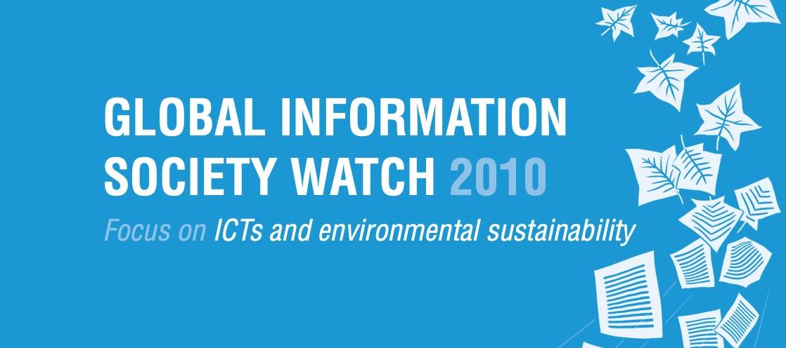 GIS Watch 2010