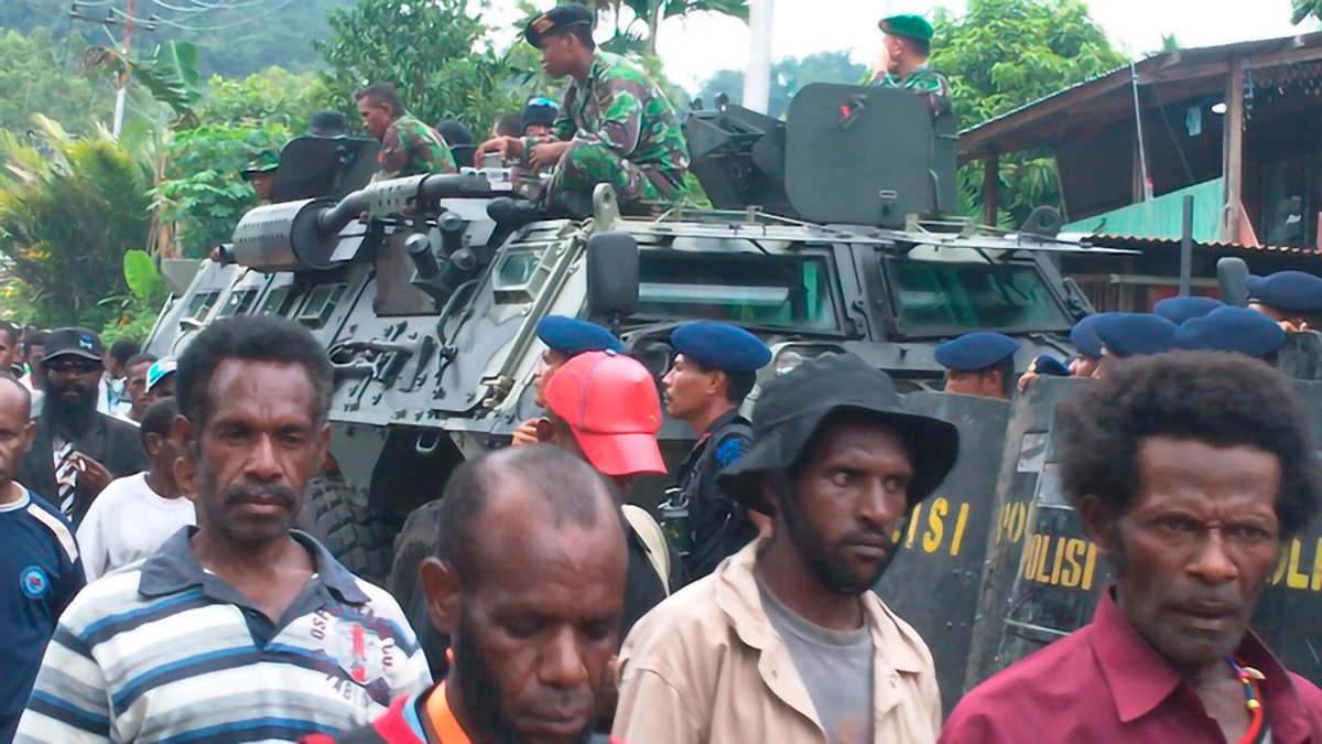 Eyewitness View of Attack on the Papuan People's Congress