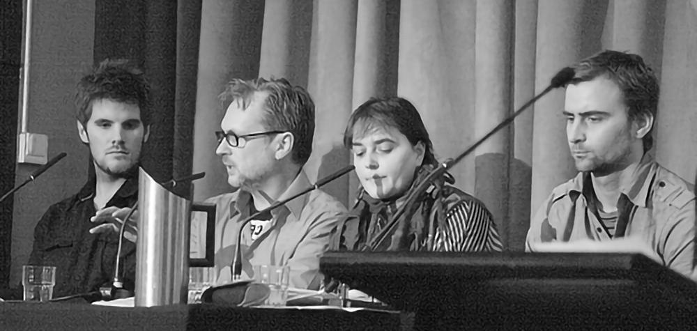 Progressive Media Panel - HRAFF 2011