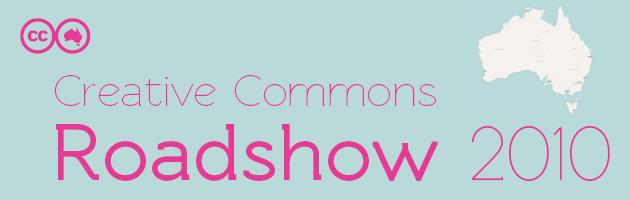 Creative Commons Roadshow