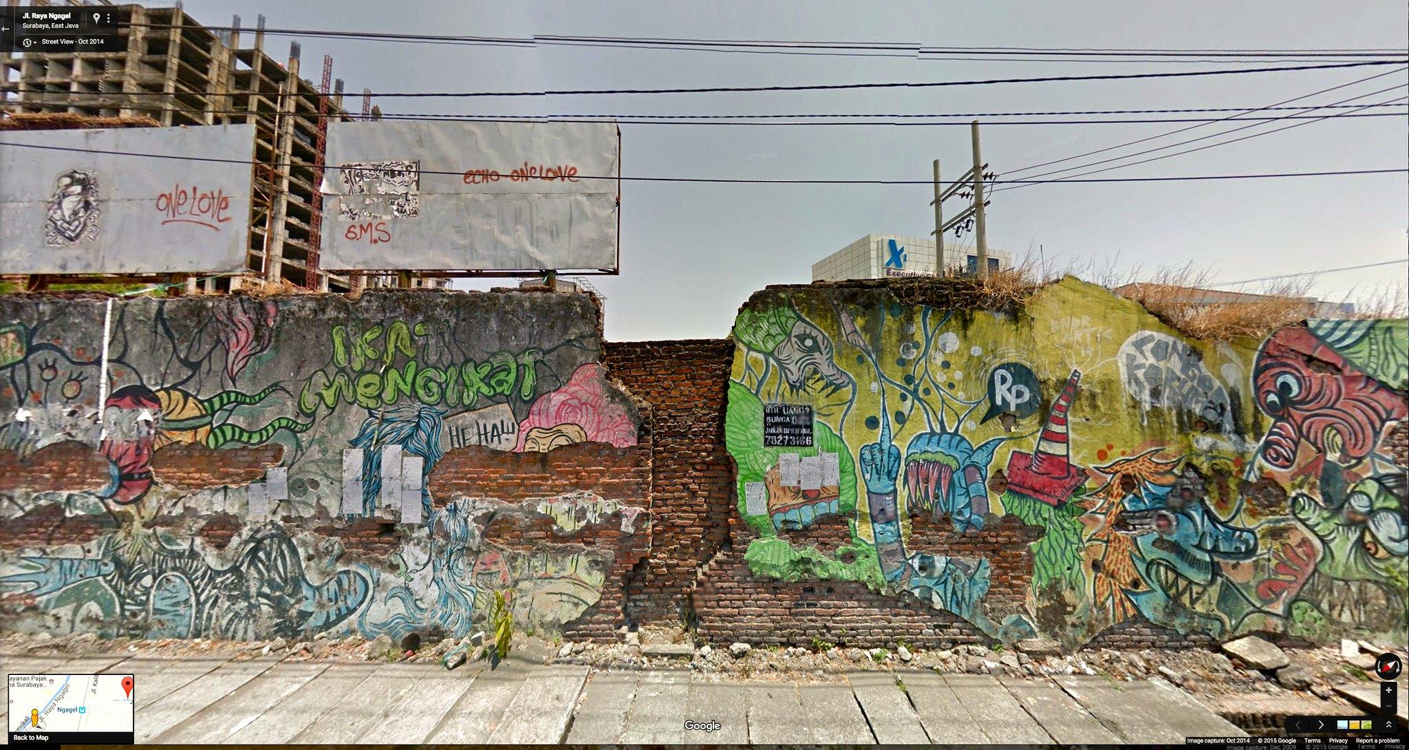 KD's World Tour: Surabaya street art