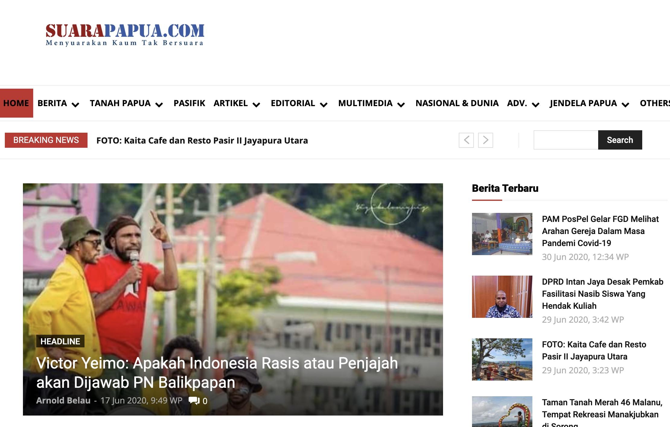 SuaraPapua.com