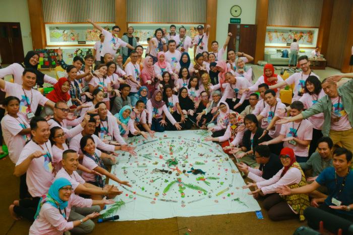 Linking & Learning Camp, Yogyakarta. Image by EngageMedia