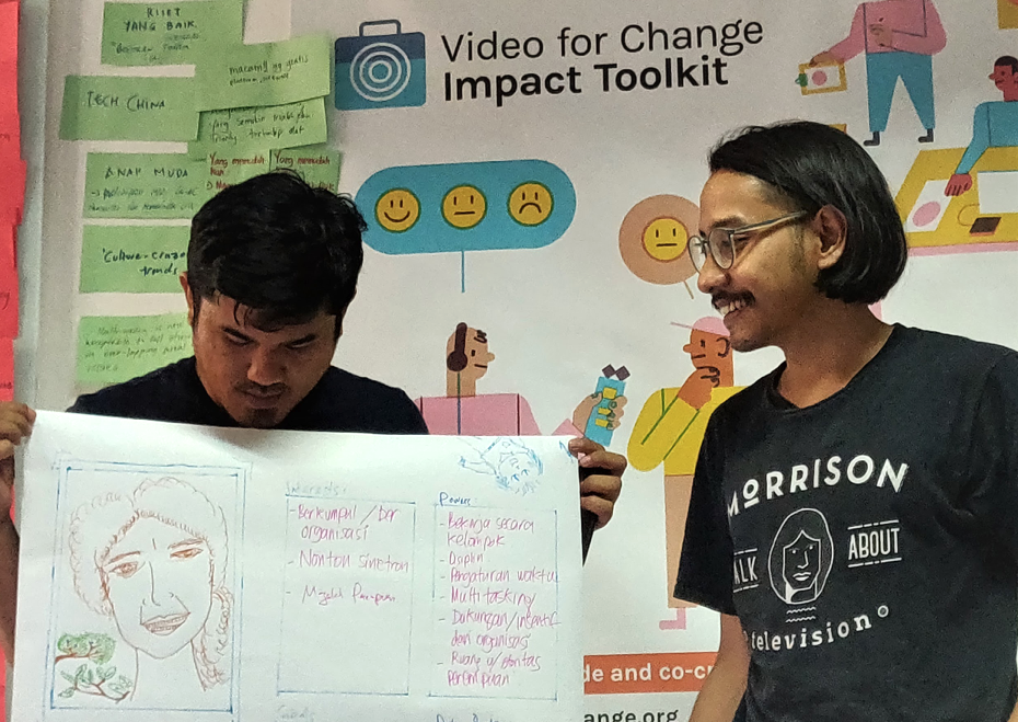 Lab Kreasi Bersama Video for Change Impact Toolkit