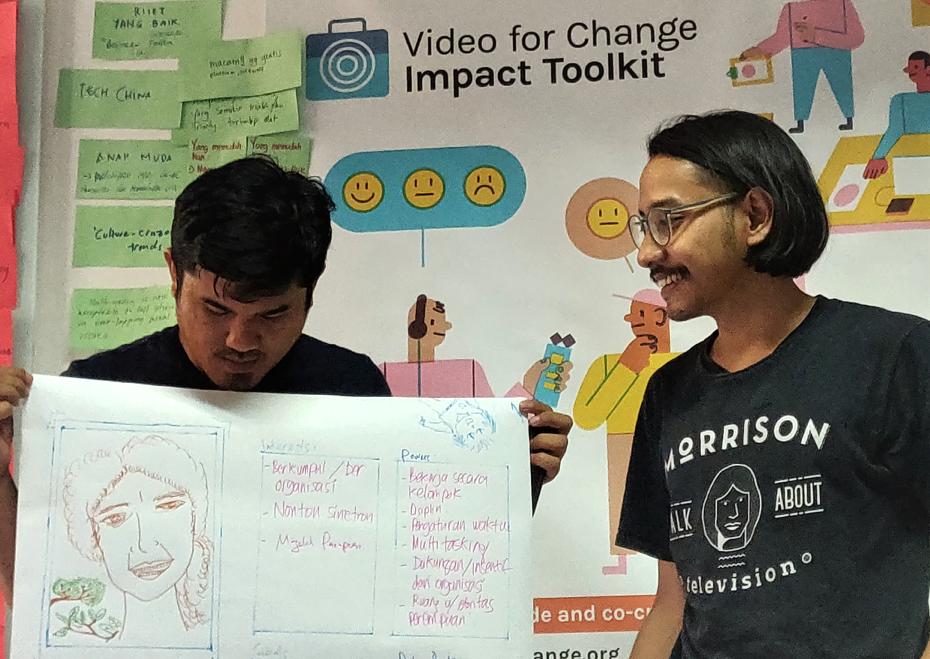 Lab Kreasi Bersama Video for Change Impact Toolkit