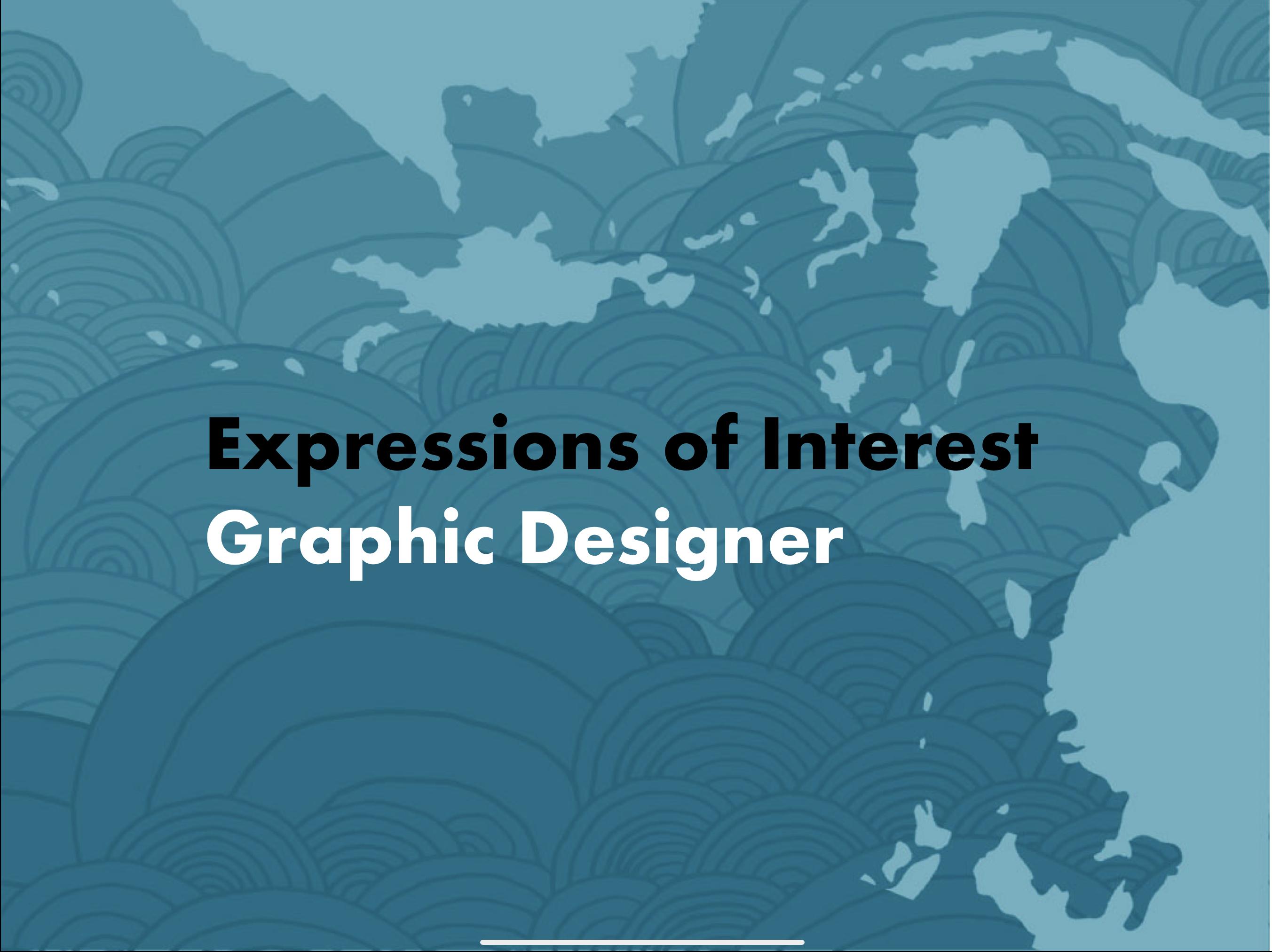EOI: Graphic Designer