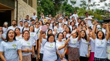 Participants of Coconet I. Image via EngageMedia.