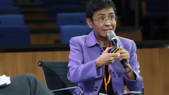 Maria A. Ressa, Chief Executive Officer, The Rappler, Philippines