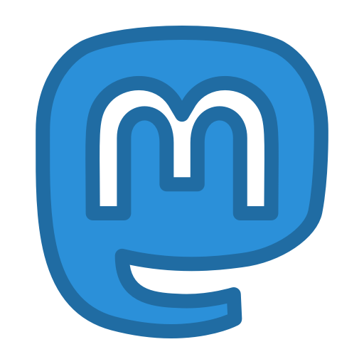 Mastodon icon. Via Iconfinder. Creative Commons (Attribution 3.0 Unported).