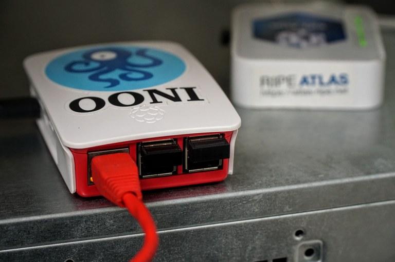 OONI Raspberry Pi Probe