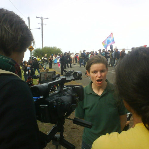 Independent Media at Climate Camp Australia 2008
