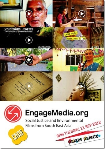 EngageMedia screening KL Malaysia