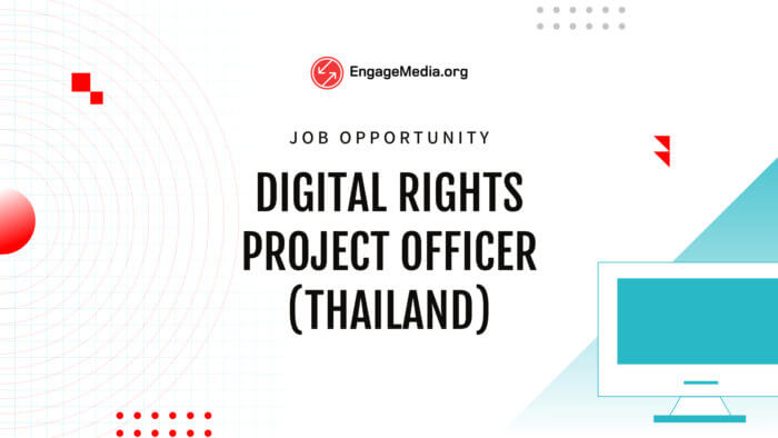 DR Project Officer (Thailand)