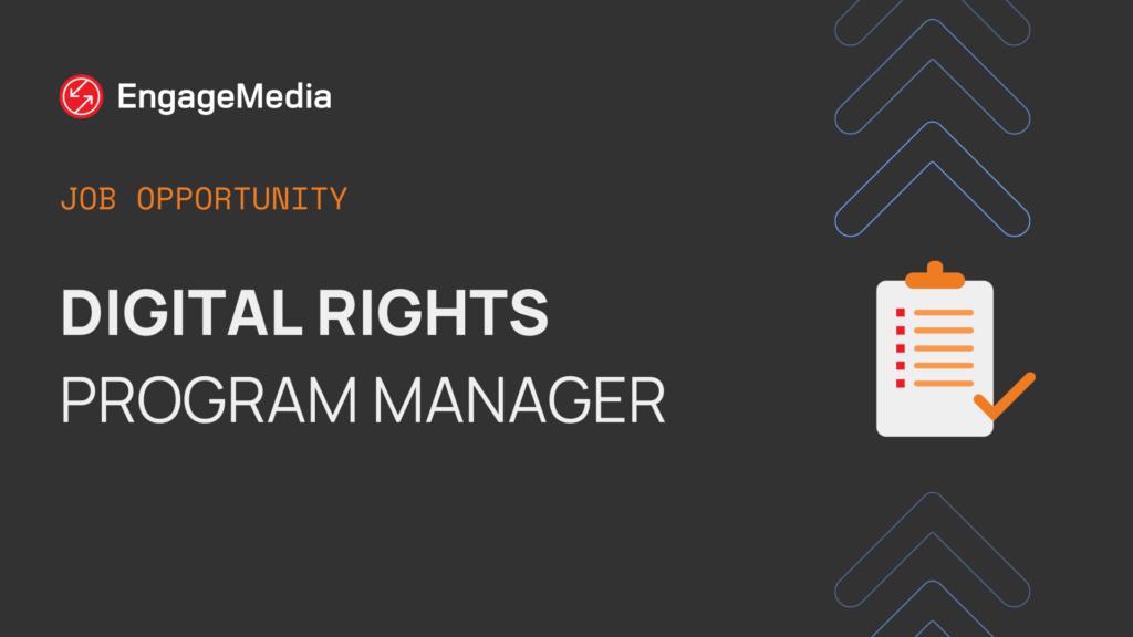 Digital Rights Program Manager