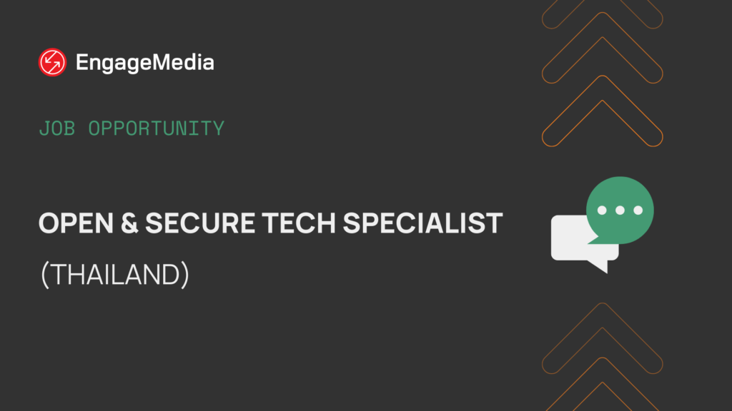 Open & Secure Tech Specialist (Thailand)